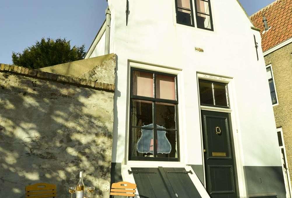 vakantiehuisje, Middelburg, Vismarkt, tweepersoonskamer, overnachten, Logement 't Oude Bierhuys
