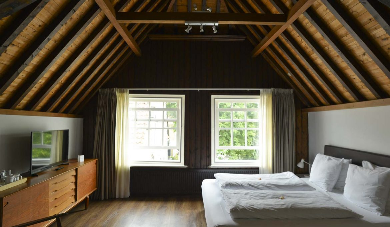hotelkamer, Middelburg, Vismarkt, tweepersoonskamer, Logement 't Oude Bierhuys (1)
